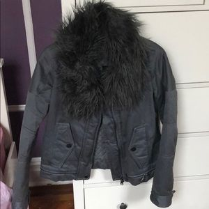 Marc Jacobs gray jacket